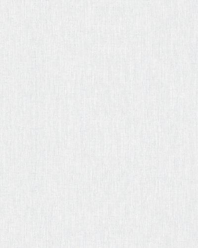 Tapete Vlies Textil Uni weiß-grau Marburg 32224