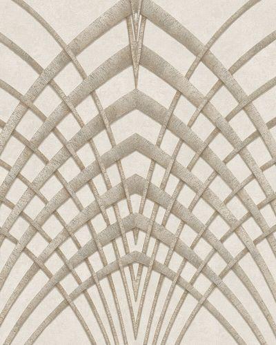 Tapete Vlies Art Deco beige gold Marburg 32255