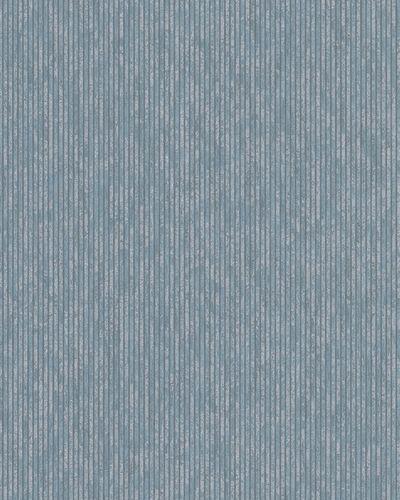 Tapete Vlies Blockstreifen blau silber Marburg 32267