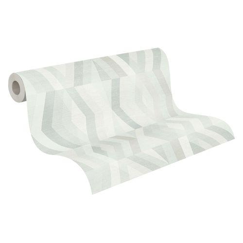Tapete Vlies Grafisch Rauten grau weiß taupe 37533-4