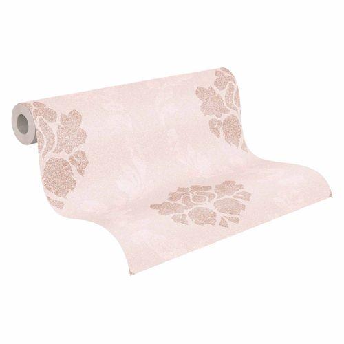 Tapete Vlies rosa bronze Barock 37552-5 | 375525