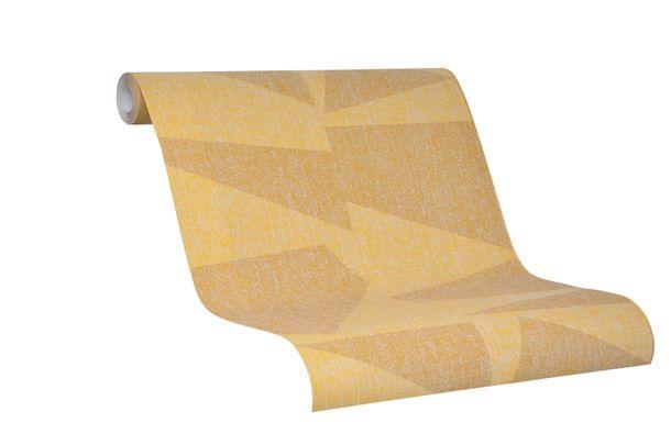 Tapete Vlies Schöner Wohnen gelb Geometrisch 31818