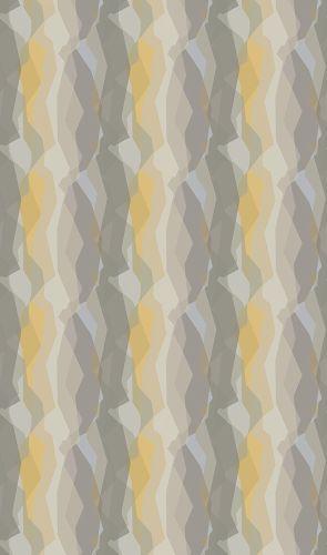 Tapete Vlies grau beige gelb Streifen Grafik 31863