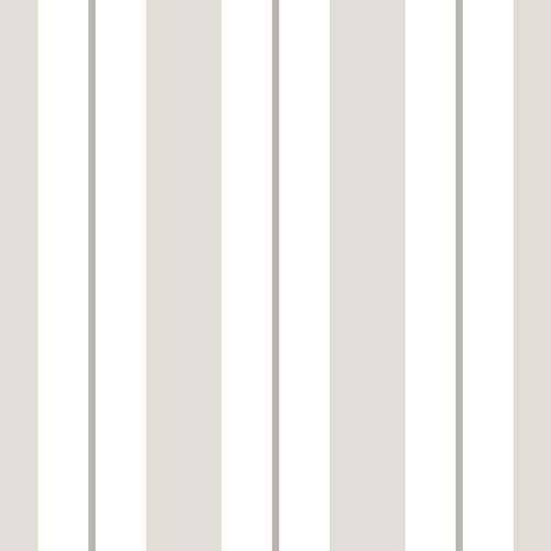Tapete Vlies weiß greige grau Gestreift 072023