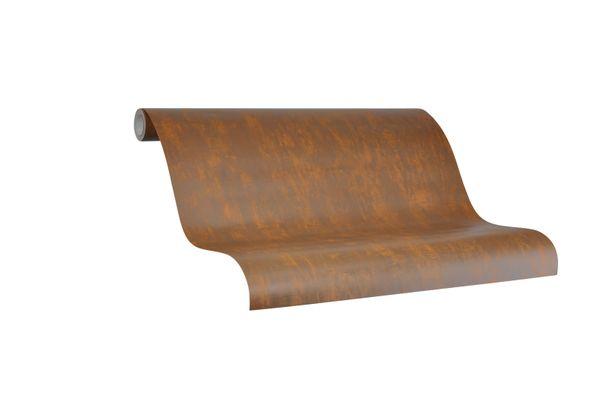 Tapete Vlies Marburg Struktur bronze metallic 84870