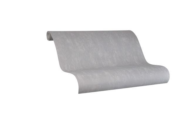 Tapete Vlies Marburg Struktur grau metallic 84876