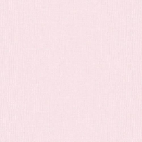 Kindertapete Papier Einfarbig rosa 102292