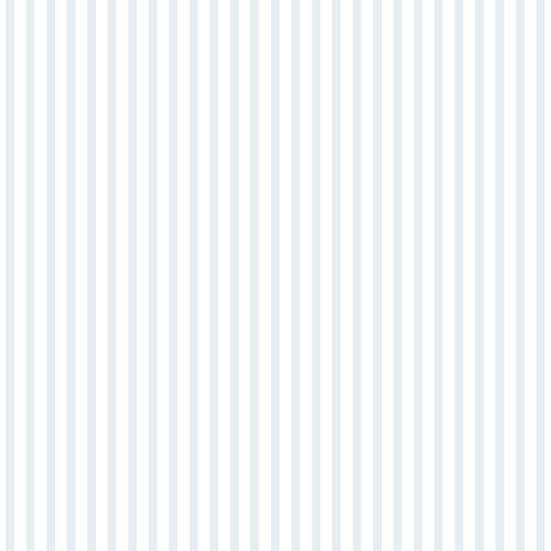 Kindertapete Papier Streifen fein weiß grau 102303