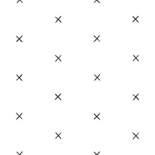 Tapete Vlies Kinderzimmer 139068 X-Design weiß schwarz online kaufen