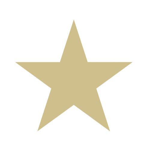 Kindertapete Vlies 347671 Stern weiß gold Glanz