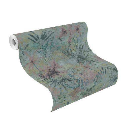 Tapete Vlies 543056 Floral blau rosa grün online kaufen