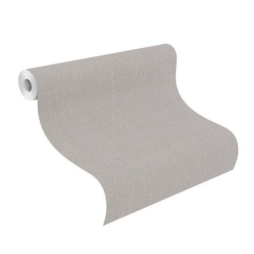Tapete Vlies 545432 meliert Einfarbig grau silber online kaufen