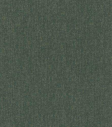 Tapete Vlies 545470 meliert Einfarbig grün gold