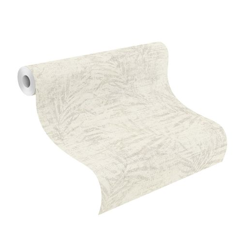 Tapete Vlies 546606 Farn creme silber online kaufen