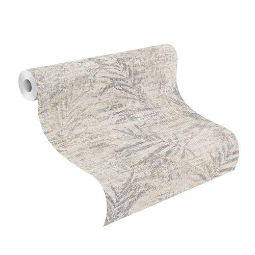 Tapete Vlies 546613 Farn grau silber online kaufen
