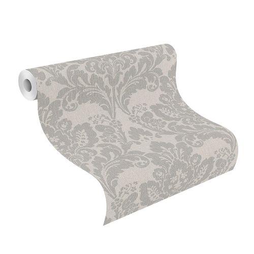Tapete Vlies 547320 Barock grau silber online kaufen