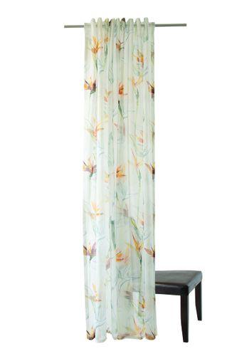 Homing Schlaufenschal Floral bunt halbtransparent