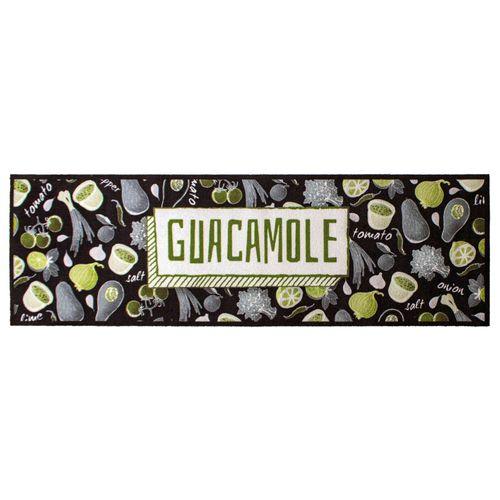 Küchenläufer Küchenteppich Guacamole waschbar