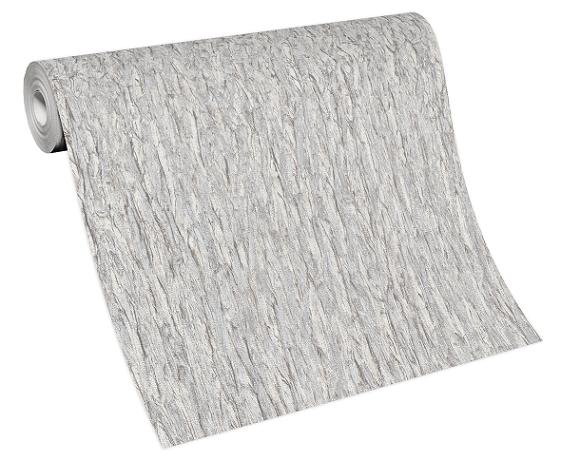 Tapete Vlies 10124-14 Rinde grau-weiß