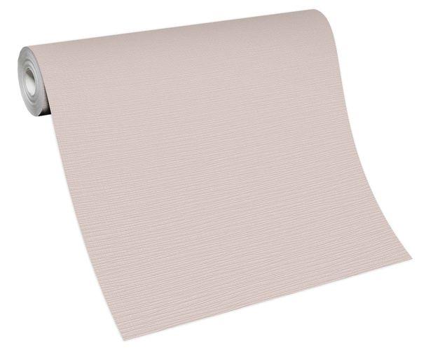 Tapete Vlies Einfarbig Struktur weiß 13082-02