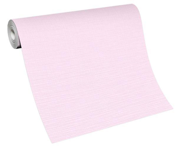 Tapete Vlies Einfarbig Struktur rosa 13082-05