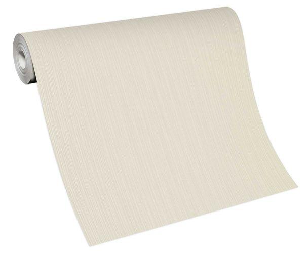 Wallpaper non-woven 10133-14 unicoloured cream-white