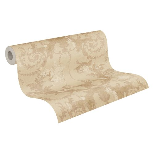 Tapete Vlies Barock beige gold 37648-3