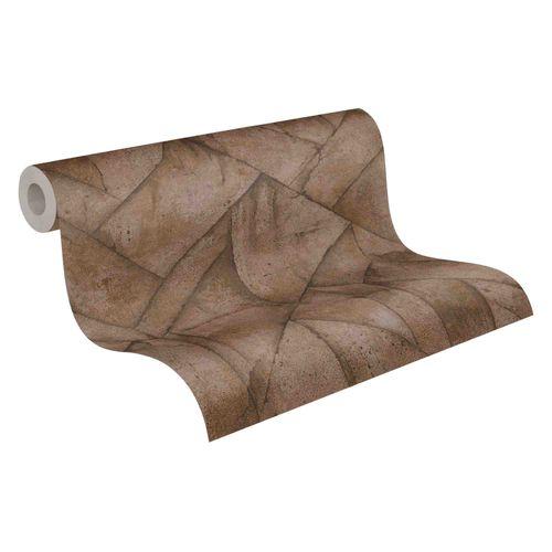 Tapete Vlies 37741-1 Beton Grafisch braun