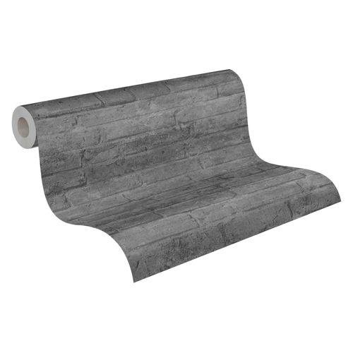 Tapete Vlies 37747-6 Wand Stein Optik grau