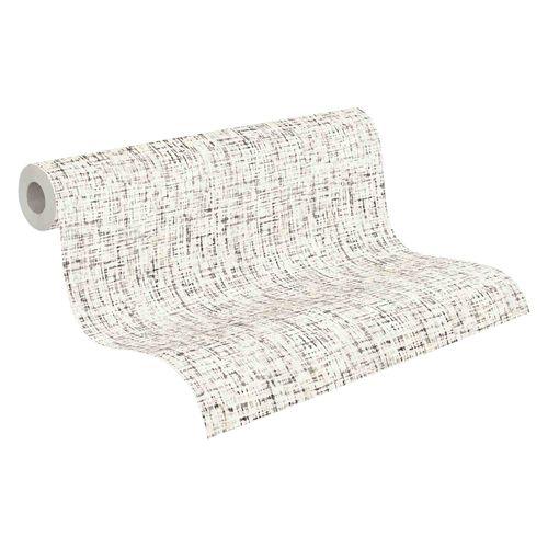 Tapete Vlies 37524-1 Textur weiß schwarz grau