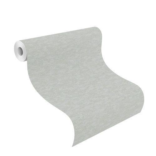 Non-Woven Wallpaper Plain grey blue Metallic 420630