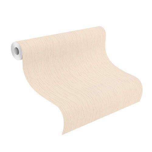 Non-Woven Wallpaper Plain Strokes pink gloss 539257