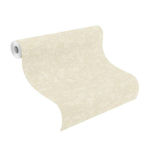 Non-Woven Wallpaper Plain Structure cream white 639520