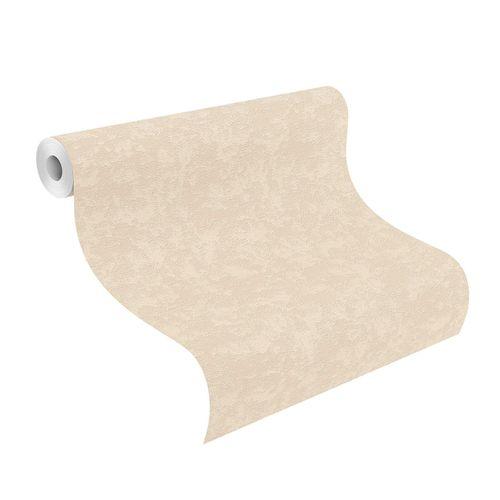 Non-Woven Wallpaper Plain Structure beige 639537