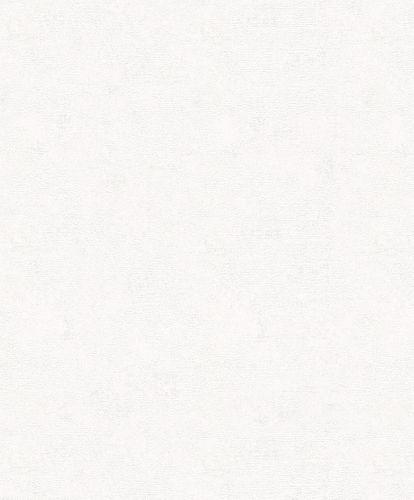 Tapete Vlies Sand-Körnung Einfarbig weiß Glanz 32507
