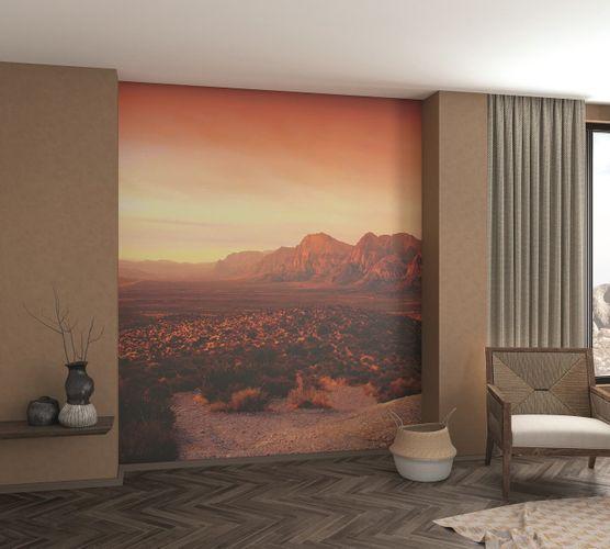 Photo Wallpaper Digital Print Desert orange red 32548