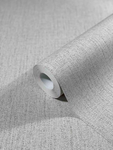 Tapete Vlies Textil-Design Einfarbig grau-beige 32669
