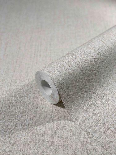 Tapete Vlies Textil-Design Einfarbig beige-grau 32671