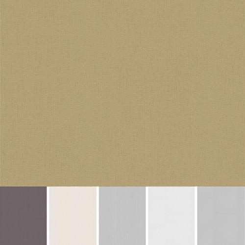 Vliestapete Einfarbig Erismann weiß grau creme gold silber