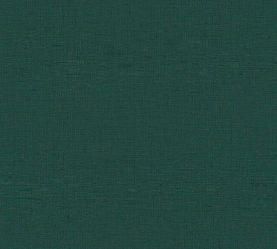 Non-Woven Wallpaper Textile Plain dark green 37953-3
