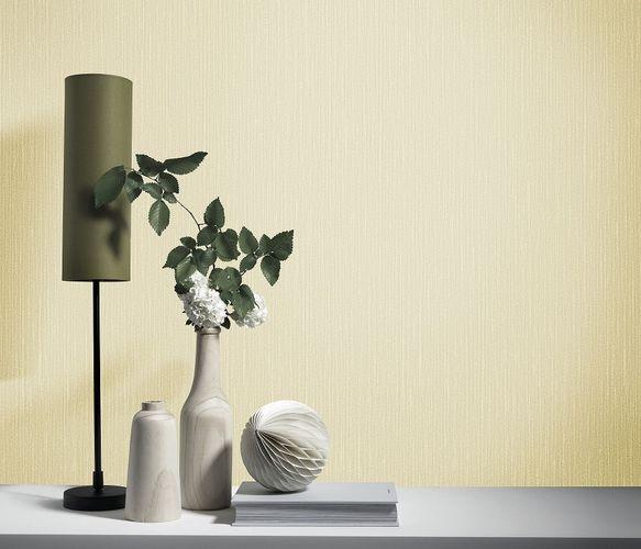 room image non-woven wallpaper elle decoration beige-gold glitter 10171-30