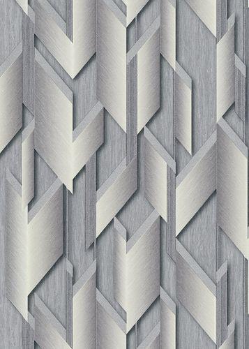 Guido Maria Kretschmer Tapete Grafisch silber 10145-10