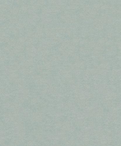 Tapete Vlies Textil-Optik grün-grau Metallic 32415