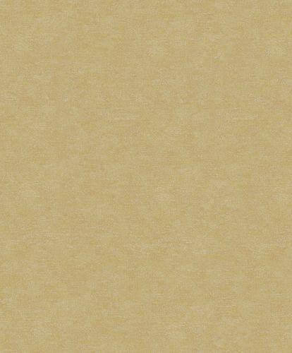 Tapete Vlies Textil-Optik braun-gold Metallic 32425