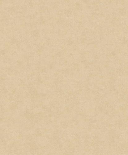 Tapete Vlies Textil-Optik dunkelbeige Metallic 32427