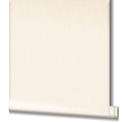 Non-Woven Wallpaper Structure Stripes cream Gloss 82236