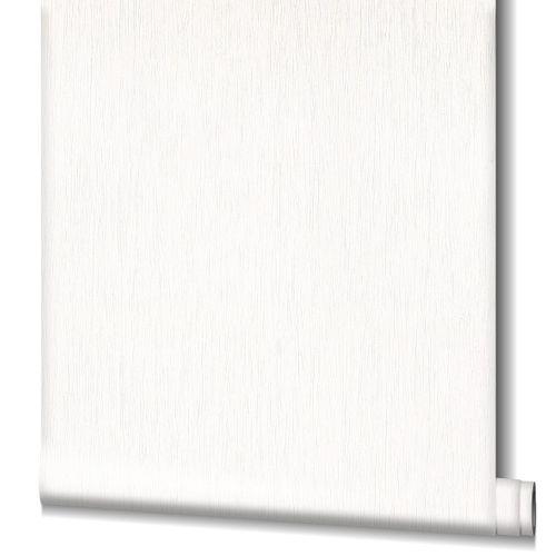 Tapete Vlies Struktur Streifen weiß Novamur 82237
