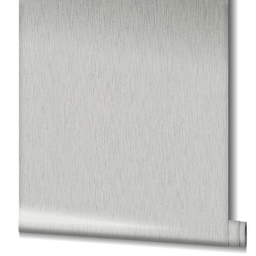 Non-Woven Wallpaper Structure Stripes grey 90612