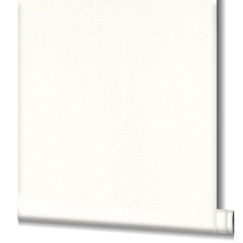 Tapete Vlies Struktur Glitzer weiß silber Novamur 98191