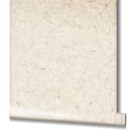 Non-Woven Wallpaper Cracks Plaster beige grey 32802